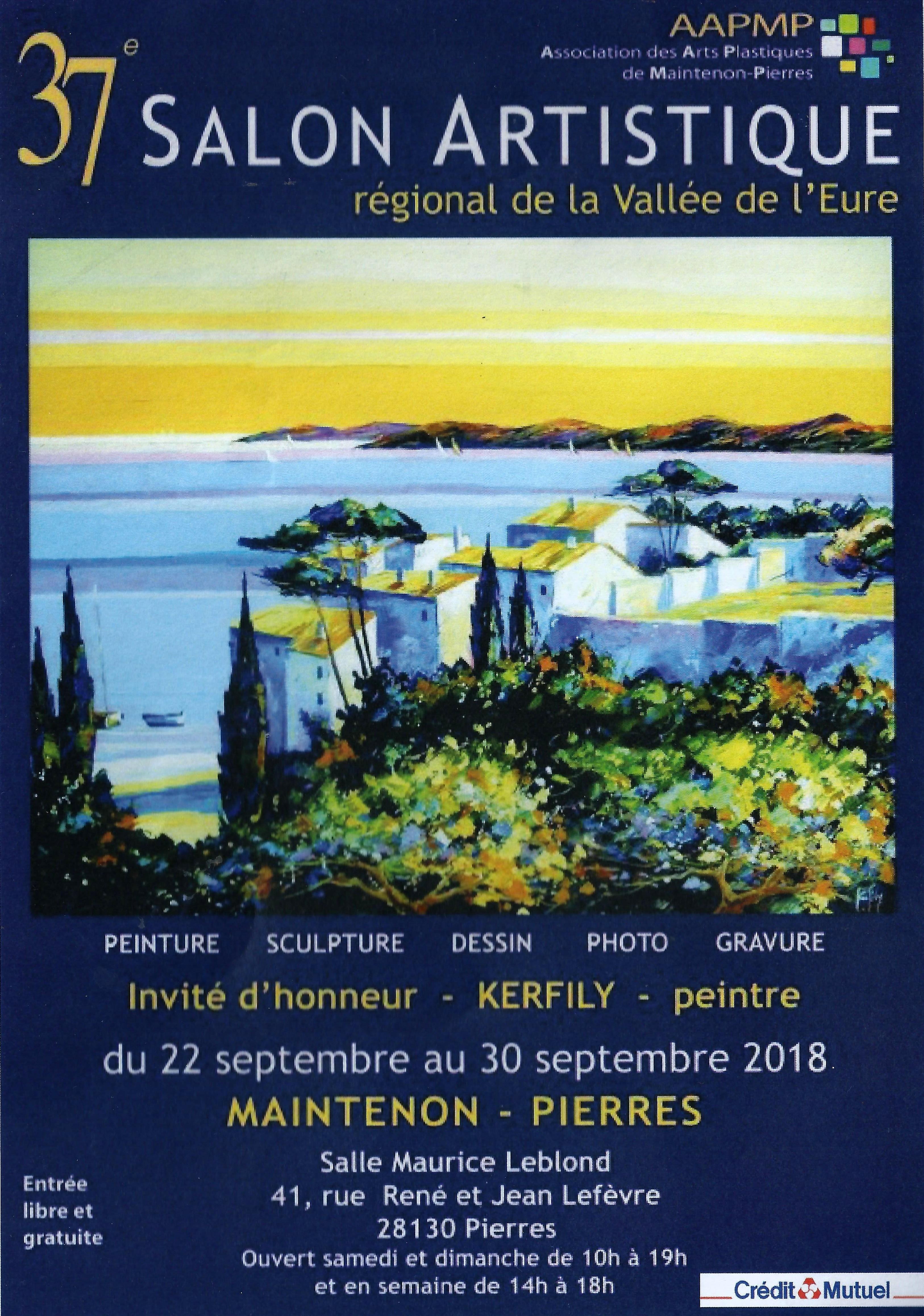 Deux œuvres sélectionnées au 37 éme salon artistique de la Vallée de l'Eure